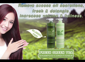 Chihtsai Fresh Green Tea Shampoo + Conditioner